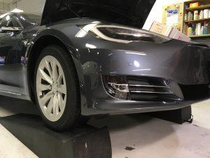 Tesla Paint Protection Film Installation – Lorenzo Tint – Paint